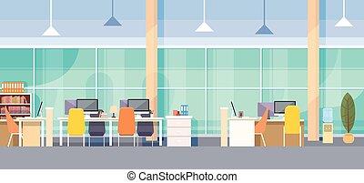 ämbete inre, nymodig, workplace, skrivbord