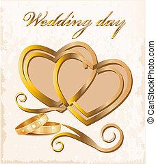 årgång, card., bröllop