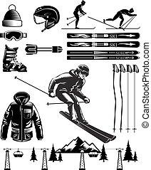 årgång, elementara, nordiska skidåkning