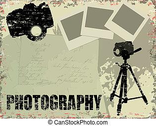 årgång, fotografi, affisch