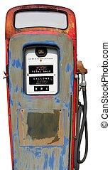 årgång, pump, gas, isolerat