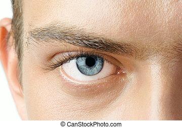 ögon, mannens