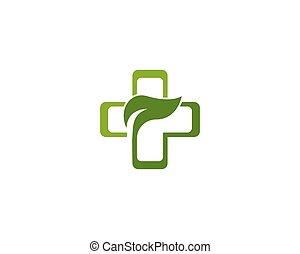 ört medicin, begrepp, logo