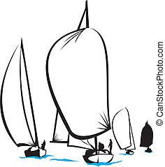 -, hav, regatta
