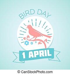 1, april, fågel, dag
