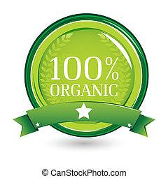 100%, organisk