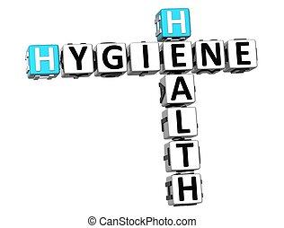 3, korsord, hygien, hälsa