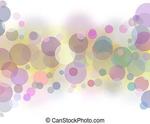 abstrakt, bokeh, bakgrund