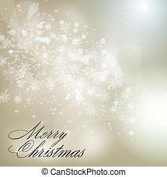 abstrakt, grå, bakgrund, jul