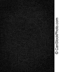 abstrakt, struktur, svart fond, craquelure, eller