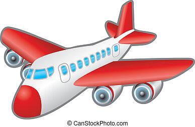airplane, illustration