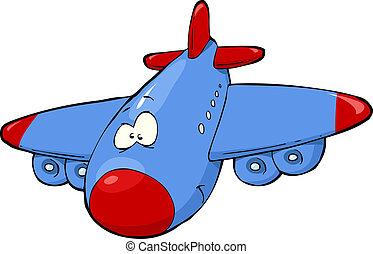 airplane, tecknad film
