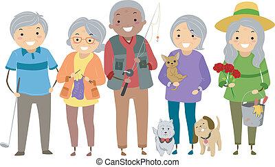 aktiviteter, pensionärer