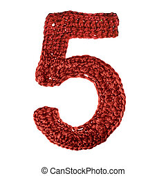 alfabet, siffra, rynka