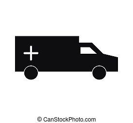 ambulans, ikon
