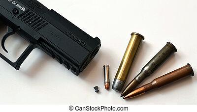 ammunition, gevär
