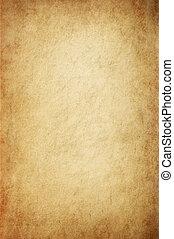 antikvitet, gulaktig, pergament