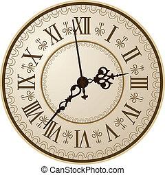 antikvitet, klocka