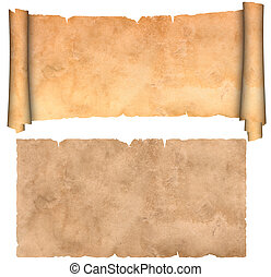 antikvitet, parchment.
