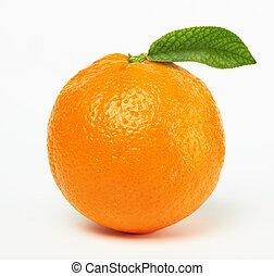 apelsin, blad