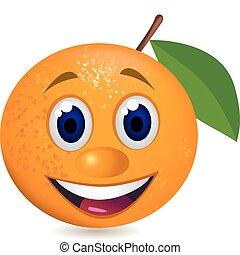 apelsin, tecknad film