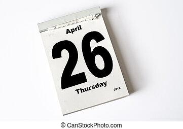 april, 26., 2012