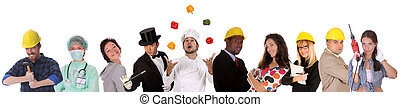 arbetare, mångfald