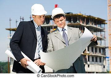 arkitekt, arbetare