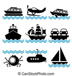 båt, ikonen