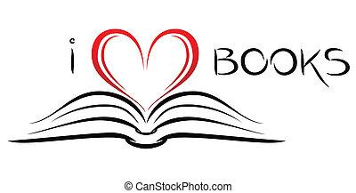 böcker, kärlek