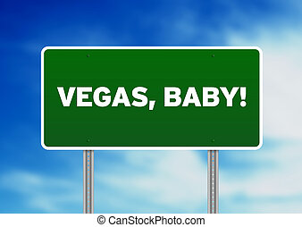 baby, huvudvägen undertecknar, vegas