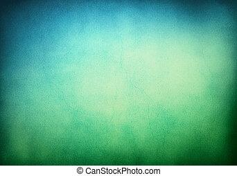 bakgrund, blåa gröna