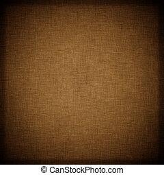 bakgrund, brun, vävnad, mörk, årgång