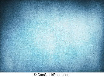bakgrund, grunge, blå