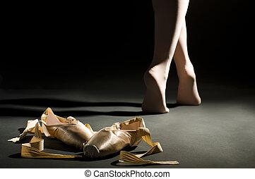 balett, schoes