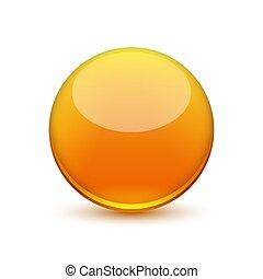ball., vektor, glatt
