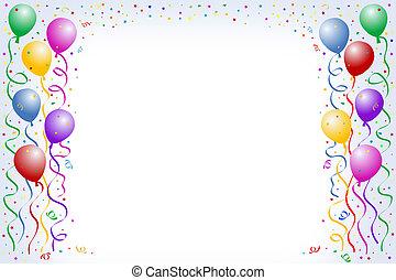 balloon, födelsedag