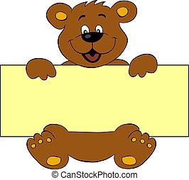 baner, björn, lycklig