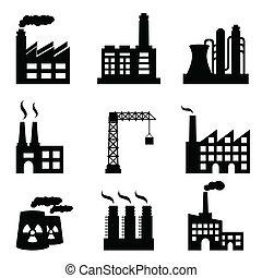 bebyggelse, industriell