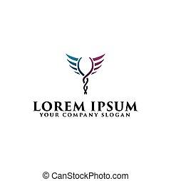 begrepp, apotek, design, mall, medicin, logo