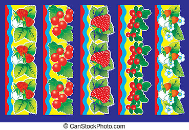 berries., sätta