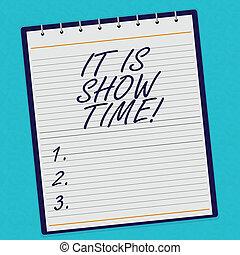 betydelse, begrepp, startande, affär, underhållningfärg, foto, topp, visa, anteckningsblock, den, watermark, spiral, bakgrund., time., tryck, text, handstil, fodra, perforanalysisce, arrangera