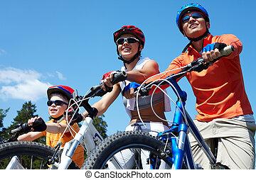 bicycles, familj