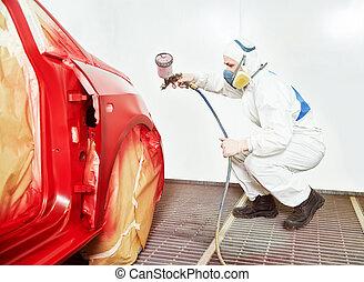 bil, teknologi, målning