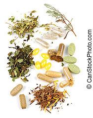 biljard, tillägg, herbal
