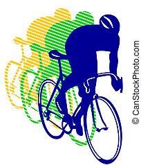 biltävlingar cykel