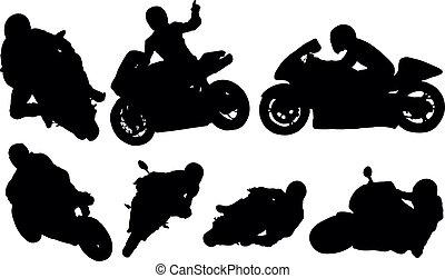biltävlingar motorcykel