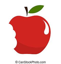 bitit, äpple