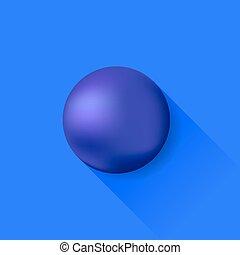 blå kula