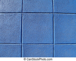 blå vägg, kvarter